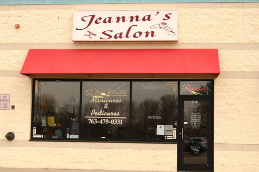 Jeanna Salon - Front View