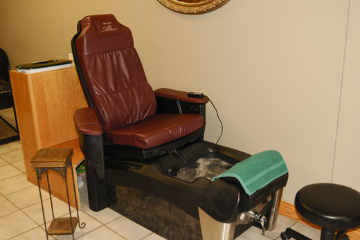 Jeannas Salon - Wash Chair